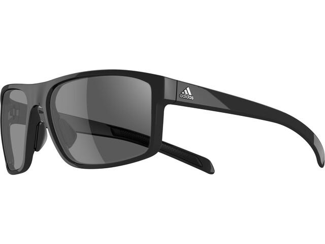 adidas Whipstart Bril, black shiny/black